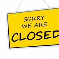 were closing