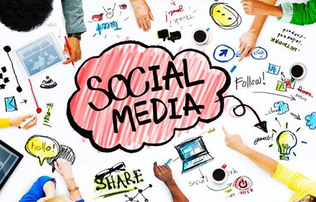 strong social media