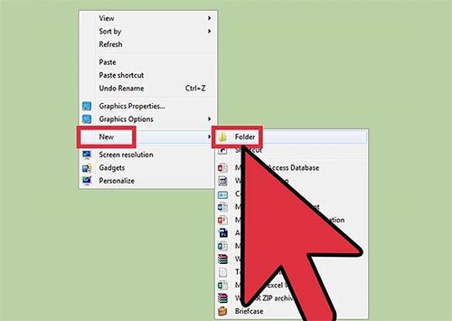 Organising Desktop